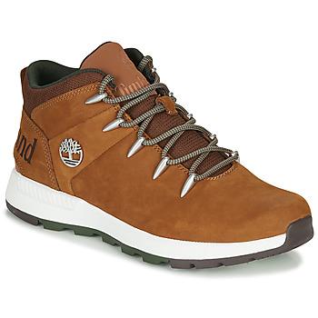 鞋子 男士 短筒靴 Timberland 添柏岚 SPRINT TREKKER MID 棕色