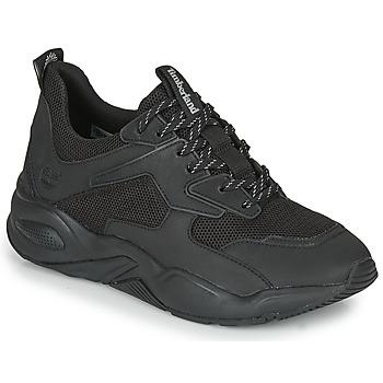 鞋子 女士 球鞋基本款 Timberland 添柏岚 DELPHIVILLETEXTILESNEAKER 黑色