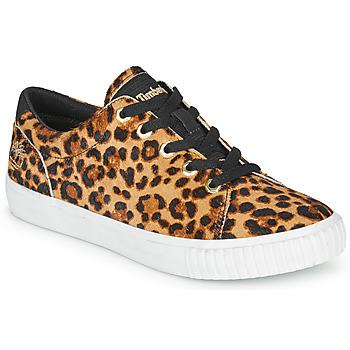 鞋子 女士 球鞋基本款 Timberland 添柏岚 SKYLA BAY LEATHER OXFORD Leopard
