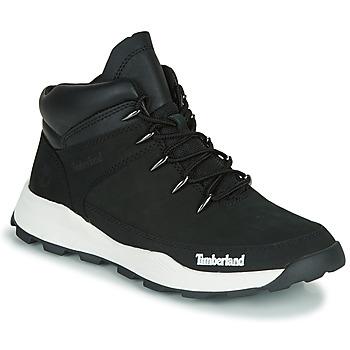 鞋子 儿童 短筒靴 Timberland 添柏岚 BROOKLYN EURO SPRINT TD 黑色