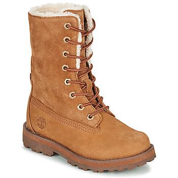 鞋子 儿童 短筒靴 Timberland 添柏岚 COURMA KID SHRL RT 棕色