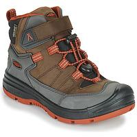 鞋子 儿童 登山 Keen REDWOOD MID WP 棕色