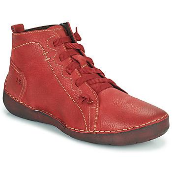 鞋子 女士 高帮鞋 Josef Seibel FERGEY 86 红色
