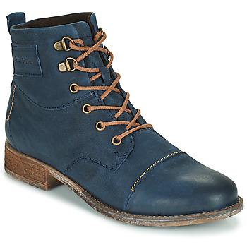 鞋子 女士 短筒靴 Josef Seibel SIENNA 17 海蓝色