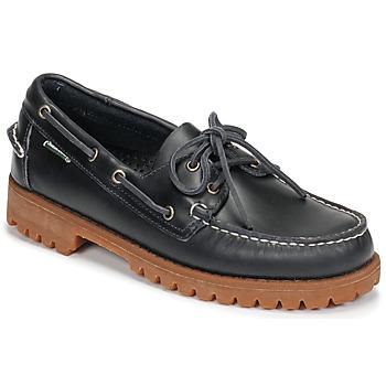 鞋子 男士 船鞋 Sebago 仕品高 RANGERWAXY 蓝色