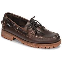 鞋子 男士 船鞋 Sebago 仕品高 RANGERWAXY 棕色