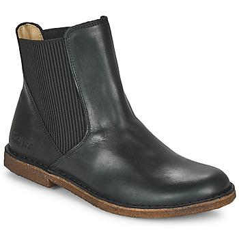 鞋子 女士 短筒靴 Kickers TINTO 黑色