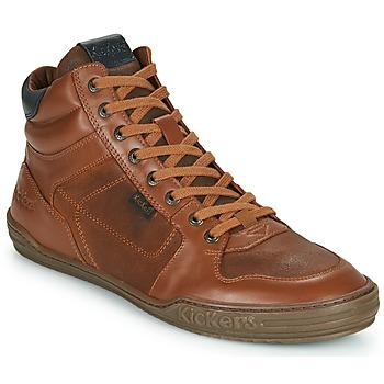 鞋子 男士 高帮鞋 Kickers JEXPLOREHIGH 棕色