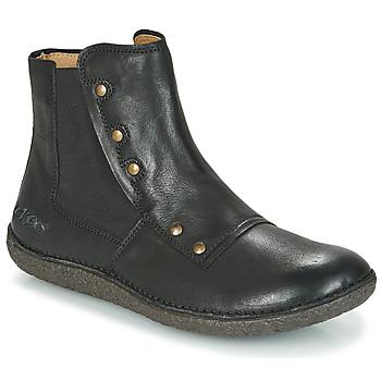 鞋子 女士 短筒靴 Kickers HAPPLI 黑色