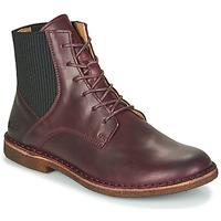 鞋子 女士 短筒靴 Kickers TITI 波尔多红