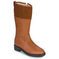 鞋子 女士 都市靴 Kickers WATHIGH 驼色