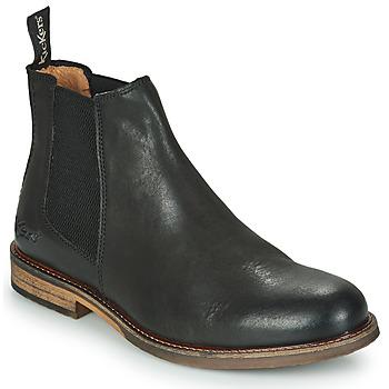 鞋子 男士 短筒靴 Kickers ALPHATRI 黑色