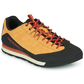 鞋子 男士 球鞋基本款 Merrell 迈乐 CATALYST SUEDE 驼色 / 黑色