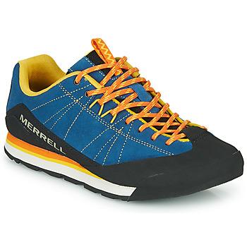 鞋子 男士 球鞋基本款 Merrell 迈乐 CATALYST SUEDE 蓝色