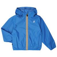 衣服 儿童 冲锋衣 K-Way LE VRAI 3.0 CLAUDE KIDS 蓝色