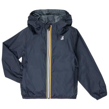 衣服 儿童 冲锋衣 K-Way LE VRAI 3.0 CLAUDE KIDS 海蓝色