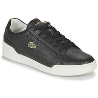 鞋子 女士 球鞋基本款 Lacoste CHALLENGE 0120 1 SFA 黑色 / 白色