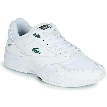 鞋子 男士 球鞋基本款 Lacoste STORM 96 LO 0120 3 SMA 白色 / 绿色