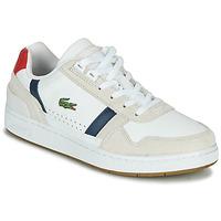 鞋子 女士 球鞋基本款 Lacoste T-CLIP 0120 2 SFA 白色 / 海蓝色 / 红色