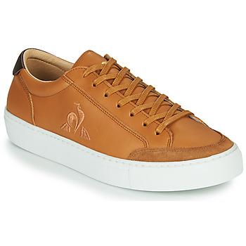 鞋子 男士 球鞋基本款 Le Coq Sportif 乐卡克 PRODIGE 棕色