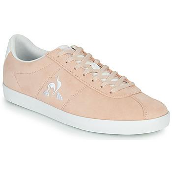 鞋子 女士 球鞋基本款 Le Coq Sportif 乐卡克 AMBRE 玫瑰色