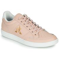 鞋子 女士 球鞋基本款 Le Coq Sportif 乐卡克 COURT CLAY W 玫瑰色