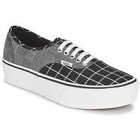 鞋子 女士 球鞋基本款 Vans 范斯 AUTHENTIC PLATFORM 2.0 灰色