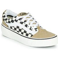 鞋子 女士 球鞋基本款 Vans 范斯 SHAPE NI 米色 / 白色