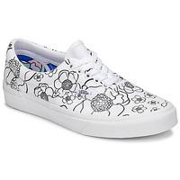 鞋子 女士 球鞋基本款 Vans 范斯 Era 白色 / 黑色