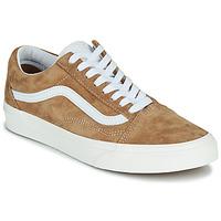 鞋子 球鞋基本款 Vans 范斯 OLD SKOOL 驼色