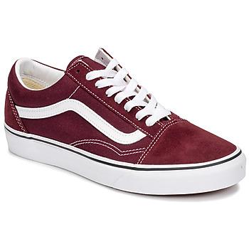 鞋子 球鞋基本款 Vans 范斯 OLD SKOOL 波尔多红