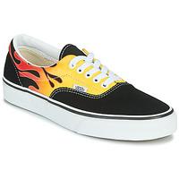 鞋子 球鞋基本款 Vans 范斯 ERA 黑色 / Flame