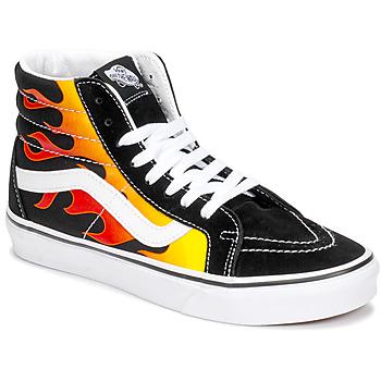 鞋子 高帮鞋 Vans 范斯 Sk8-Hi Reissue 黑色 / Flame