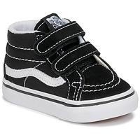 鞋子 儿童 高帮鞋 Vans 范斯 TD SK8-MID REISSUE V 黑色 / 白色