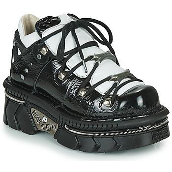 鞋子 女士 球鞋基本款 New Rock  黑色 / 白色