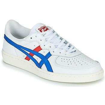 鞋子 球鞋基本款 Onitsuka Tiger 鬼冢虎 GSM LEATHER 白色 / 红色 / 蓝色