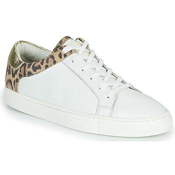 鞋子 女士 球鞋基本款 Les Tropéziennes par M Belarbi LOUANE 白色 / Leopard