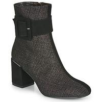 鞋子 女士 短靴 Perlato JAMIROCK 黑色