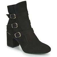 鞋子 女士 短靴 Perlato JAMIKOU 黑色