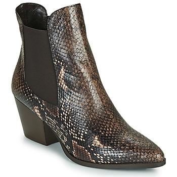 鞋子 女士 短靴 Perlato JAMOG 棕色