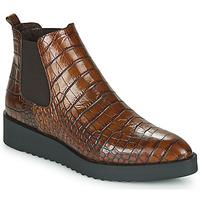 鞋子 女士 短筒靴 Perlato JAMINO 棕色