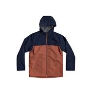 衣服 男孩 夹克 Quiksilver 极速骑板 WAITING PERIOD 海蓝色 / 棕色