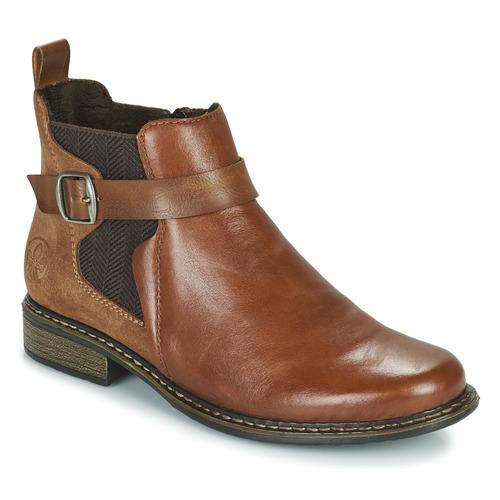 鞋子 女士 短靴 Rieker 瑞克尔 Z49A9-24 驼色