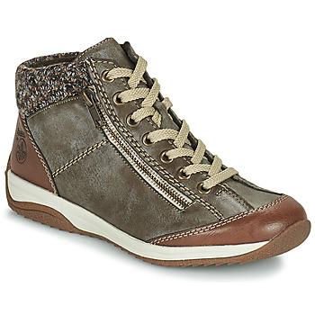 鞋子 女士 短筒靴 Rieker 瑞克尔 EMPARASSA 棕色
