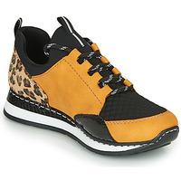 鞋子 女士 球鞋基本款 Rieker 瑞克尔 TENUA 棕色 / 黑色