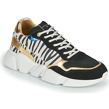 鞋子 女士 球鞋基本款 Serafini OREGON 黑色 / 白色 / 金色