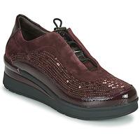 鞋子 女士 球鞋基本款 Stonefly 斯通富莱 CREAM 21 波尔多红