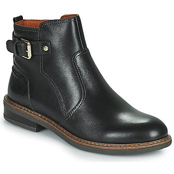 鞋子 女士 短筒靴 Pikolinos 派高雁 ALDAYA W8J 黑色