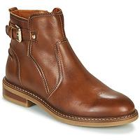 鞋子 女士 短筒靴 Pikolinos 派高雁 ALDAYA W8J 棕色