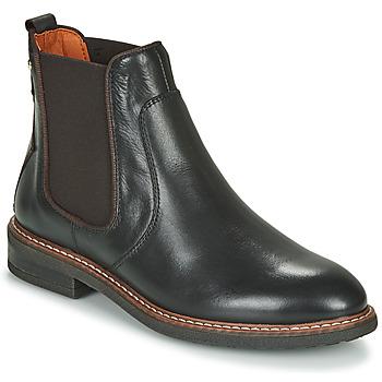 鞋子 女士 短筒靴 Pikolinos 派高雁 ALDAYA W8J 黑色 / 棕色